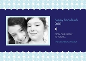 Product Image For Hanukkah Circles Photo Card