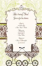 Product Image For Doubly Blessed Invitation
