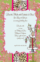 Product Image For Holly Deer Invitation