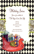 Product Image For Sleigh Ride Invitation