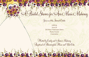 Product Image For Garden Wedding Invitation