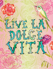 Product Image For La Dolce Vita Note Card