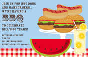 Product Image For BBQ Table Invitation