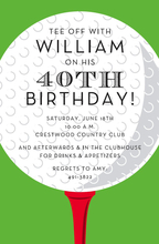 Product Image For Golf Ball Invitation