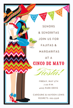 Product Image For Fiesta Duo Invitation
