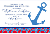 Product Image For Preppy Anchor Invitation