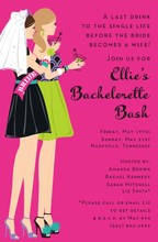 Product Image For Bachelorette Duo Invitation