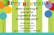 Product Image For Birthday Deco Invitation