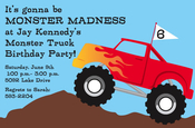 Product Image For Truck Rally Invitation