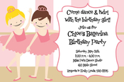 Product Image For Tiny Dancers Invitation