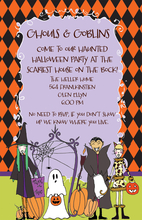 Product Image For Ghouls & Goblins Invitation