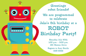 Product Image For Robot Invitation