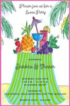 Product Image For Tropical Table Invitation
