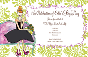 Product Image For Toast of the Town Invitation
