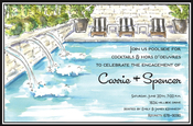 Product Image For Fancy Pool Invitation