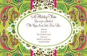 Product Image For Mistletoe Cameo Invitation