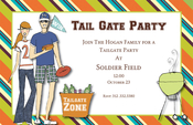 Product Image For Tailgatin' Invitation