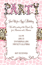 Product Image For Party Animal Invitation