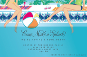 Product Image For Poolside Invitation