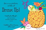 Product Image For Pineapple Drink Invitation