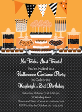 Product Image For Halloween Candy Buffet Invitation