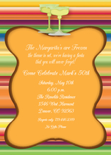 Product Image For Fiesta on the rocks Digital Invitation