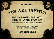 Product Image For Ouija Board Invitation