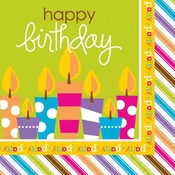 Product Image For Birthday Surprise Luncheon Napkin