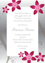 Product Image For Floral Twilight Invitation