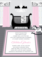 Product Image For Sweet Nursery Toile Invitation