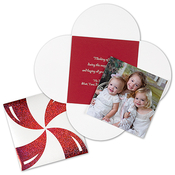 Product Image For Peppermint Wrap Photo Card