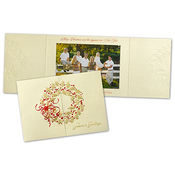 Product Image For Wreath Gatefold Photo Card