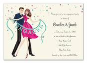 Product Image For Engaged! Banner Invitation