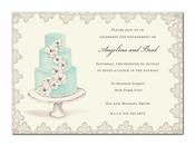 Product Image For Beautiful Cake Invitation