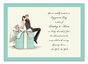 Product Image For Couple on Box Invitation