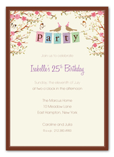Product Image For Party Banner Invitation