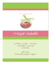 Product Image For My Baby Face Invitation