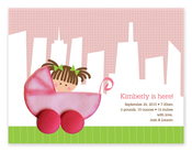 Product Image For Girl on a City Stroll Invitation