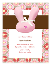 Product Image For My Cute Bunny Invitation