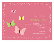 Product Image For My Sweet Butterflies Invitation