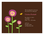Product Image For Magical Blossoms Invitation