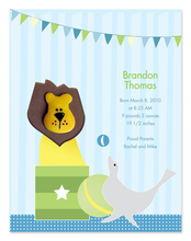 Product Image For Baby Circus Invitation
