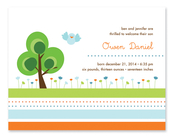 Product Image For Blue Garden Invitation