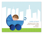 Product Image For Boy on a City Stroll Invitation