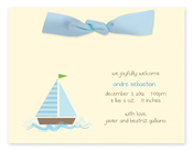 Product Image For My Blue Sailboat Invitation