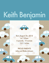 Product Image For Bunch of Cars Invitation