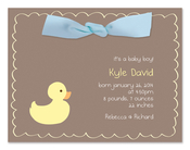 Product Image For Little Duckie Invitation