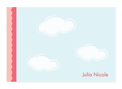 Product Image For Dreamy Clouds (Pink) Note Card