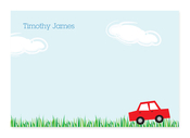 Product Image For Little Car Ride Note Card