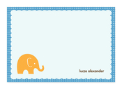 Product Image For My Little Elephant Note Card